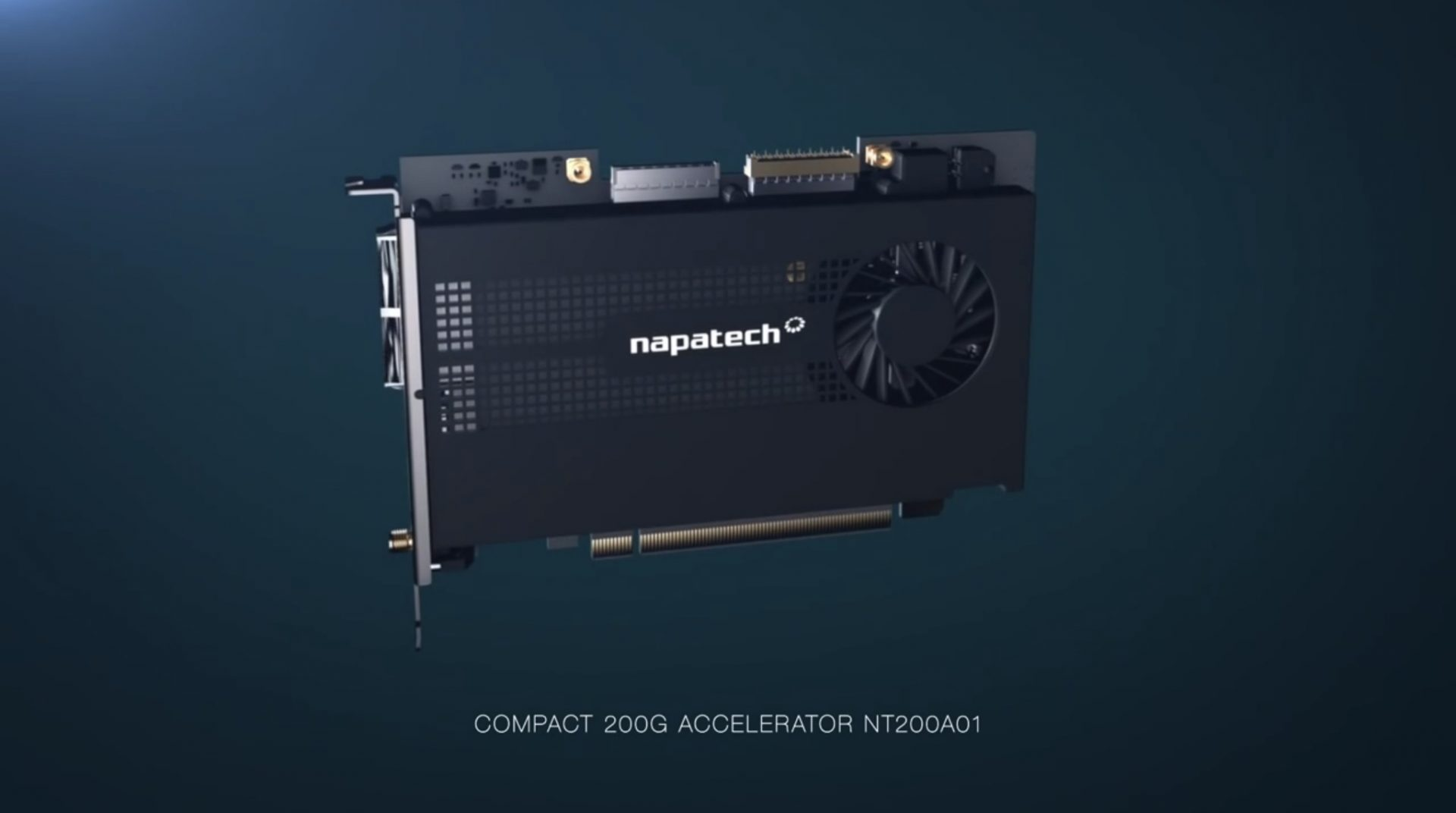 Compact 200G Network Accelerator NT200A01
