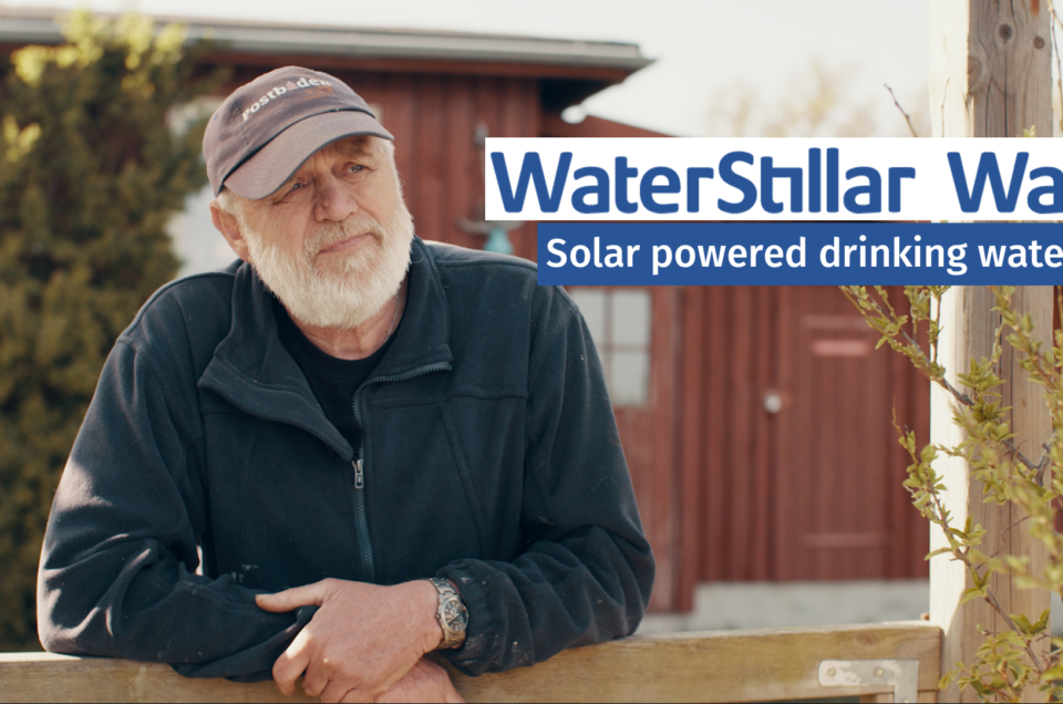 Solar powered drinking water